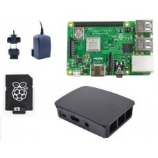 RPi 3B+ (2018) Black Starter Kit