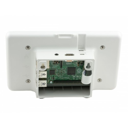 Rpi 7 Quot Touchscreen Display White Case