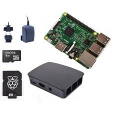 RPi 3 (2016) Black Starter Kit